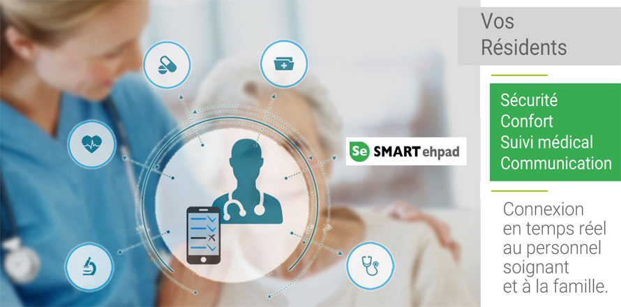 SMART ehpad Résidents